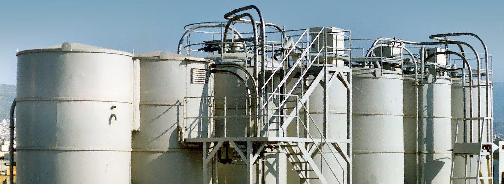 Vraykos bulk materials storing systems & bulk material handling systems