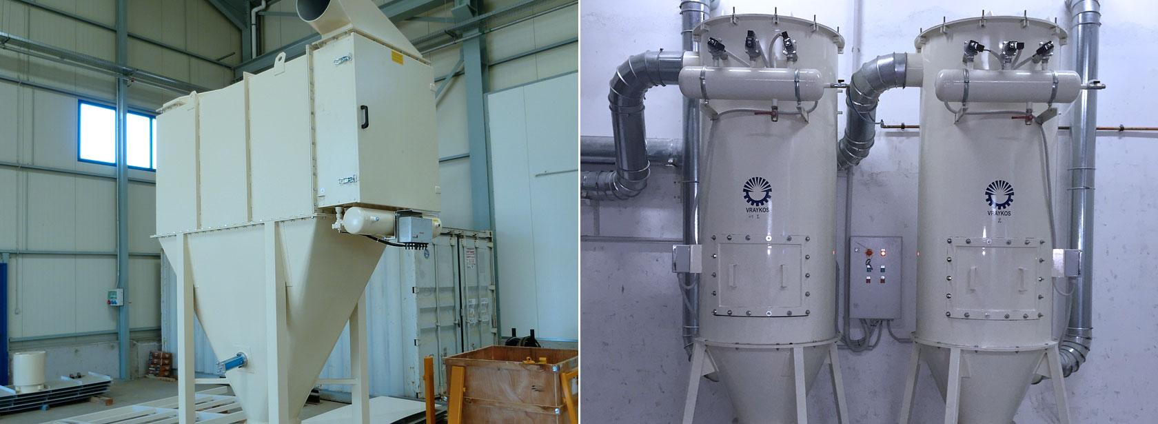 Aspiration – Dust Filtering System