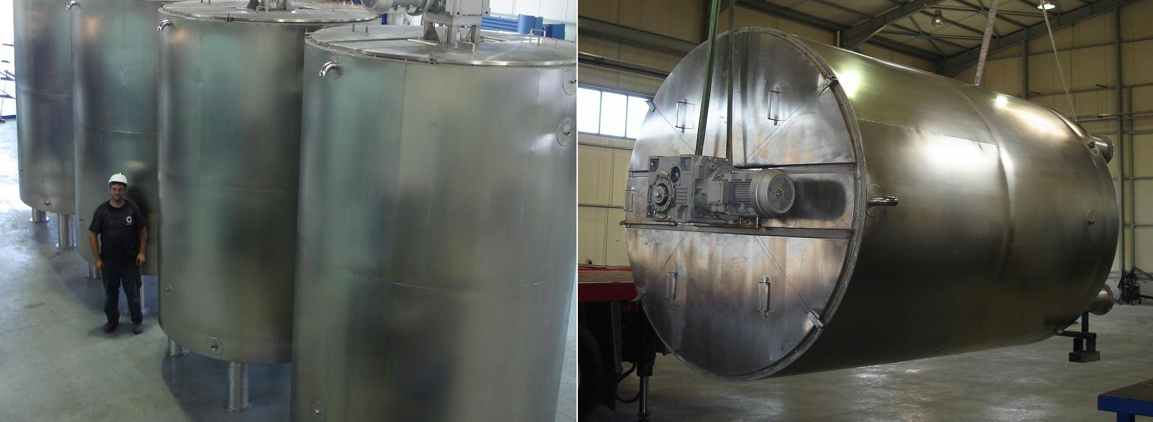 Chocolate Inox Storage Tank