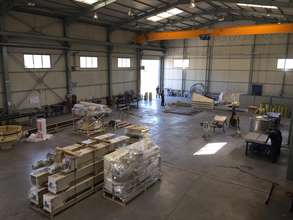 Automated bulk material handling systems