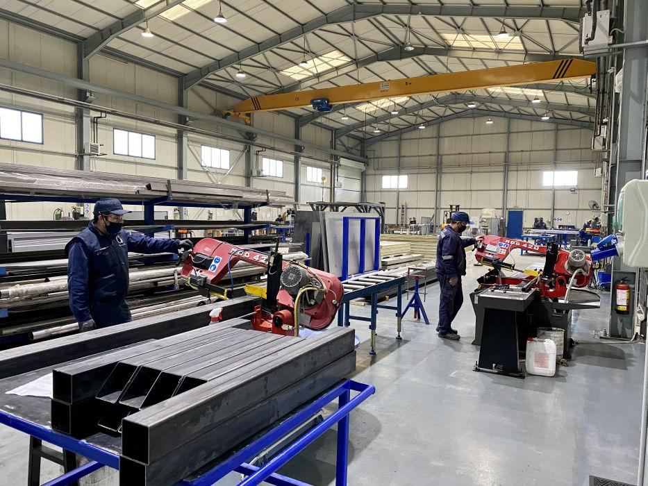 Construction of industrial equipment